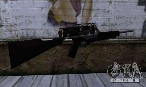 Calico M951S from Warface v1 para GTA San Andreas segunda tela