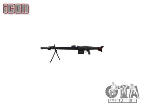 Alemão MG3 metralhadora icon2 para GTA 4 terceira tela