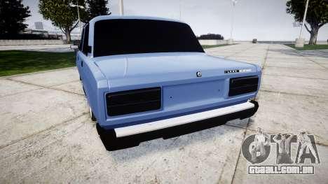 UTILIZANDO-2107, Lambo para GTA 4 traseira esquerda vista