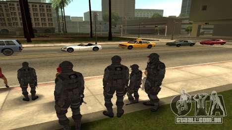 Skin Third Echelon para GTA San Andreas segunda tela