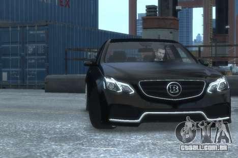 Mercedes-Benz E63 BRABUS 850 para GTA 4 vista interior