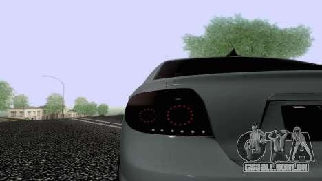 Toyota Vios Extreme Edition para vista lateral GTA San Andreas