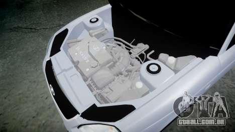 VAZ-2170 melhor para GTA 4 vista interior