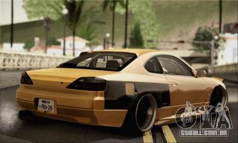 Nissan Silvia S24-5 (215SX) para GTA San Andreas esquerda vista