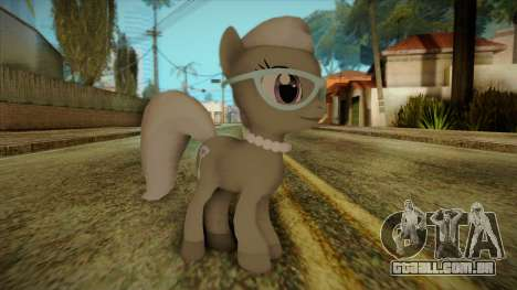 Silverspoon from My Little Pony para GTA San Andreas