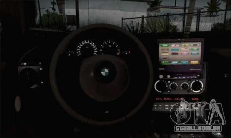 BMW M3 E36 Bosnia Stance para GTA San Andreas vista direita