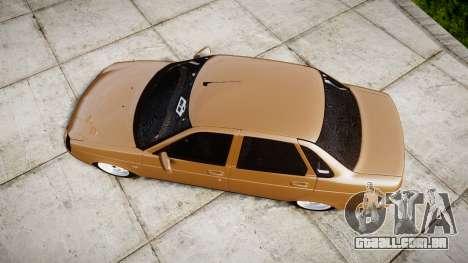 ВАЗ-2170 Instalado Prioresa de Qualidade para GTA 4 vista direita
