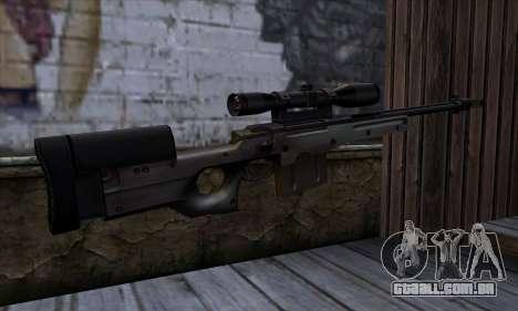 AW50 from Far Cry para GTA San Andreas segunda tela