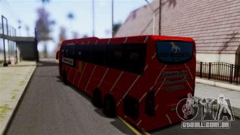 Volvo Gumarang Jaya para GTA San Andreas esquerda vista