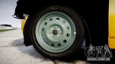 VAZ-Lada 2170 Priora hobo para GTA 4 vista de volta