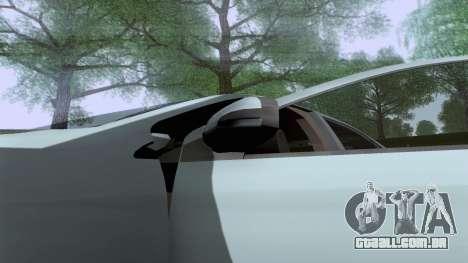 Toyota Vios Extreme Edition para GTA San Andreas vista direita
