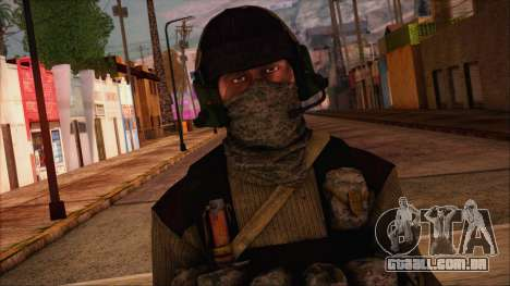 Recon from Battlefield 3 para GTA San Andreas terceira tela