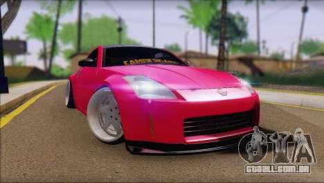 Nissan 350Z CAMBERGANG para GTA San Andreas