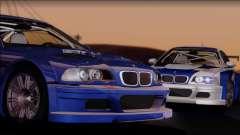 BMW M3 GTR E46 coupe para GTA San Andreas