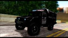 SWAT Enforcer para GTA San Andreas