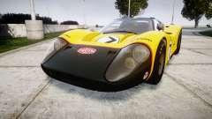 Ford GT40 Mark IV 1967 PJ Fernando Pedace 7 para GTA 4