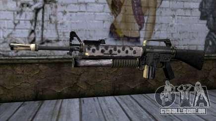 M4 from Call of Duty: Black Ops v2 para GTA San Andreas