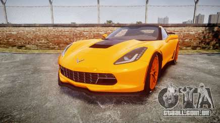 Chevrolet Corvette Z06 2015 TireBr1 para GTA 4