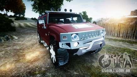 Hummer H2 para GTA 4