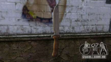 Daryl Knife from The Walking Dead para GTA San Andreas