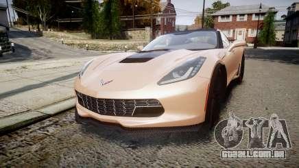 Chevrolet Corvette Z06 2015 TireBr2 para GTA 4