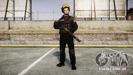 Uniformes grupos de assalto especial. armas para GTA 4