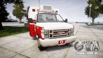 Brute V-240 Ambulance [ELS] para GTA 4