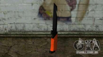 Knife from Battlefield 3 para GTA San Andreas