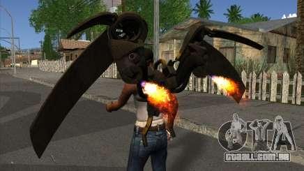 Jetpack from Batman Arkham Origins para GTA San Andreas