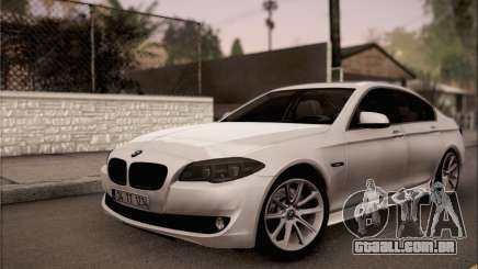 BMW 520d 2012 para GTA San Andreas