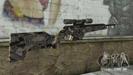 Novo rifle sniper para GTA San Andreas segunda tela
