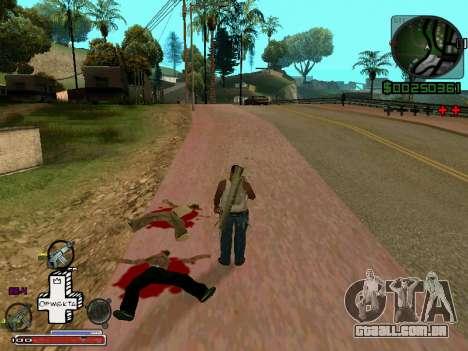 C-HUD Optiwka para GTA San Andreas segunda tela