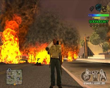 C-HUD Simple para GTA San Andreas
