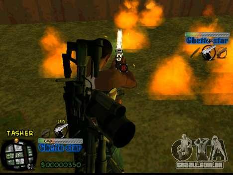 C-HUD Ghetto Star para GTA San Andreas terceira tela