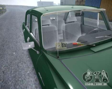 AZLK 2140 para GTA 4 vista de volta