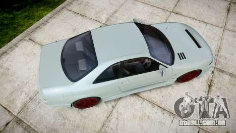 Nissan Skyline GT R33 1996 para GTA 4 vista direita