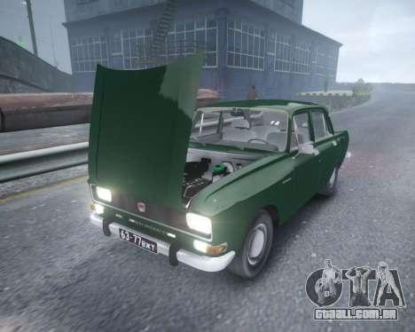 AZLK 2140 para GTA 4 vista interior