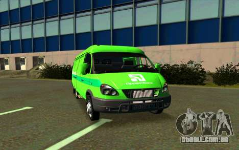 Gazela 2705 PrivatBank para GTA San Andreas