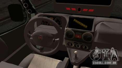 Fiat Doblo 2005 para GTA San Andreas traseira esquerda vista