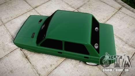 Fiat 128 Berlina para GTA 4 vista direita