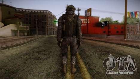 Modern Warfare 2 Skin 6 para GTA San Andreas segunda tela