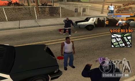 C-HUD by Fernando Delgado para GTA San Andreas terceira tela
