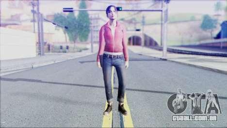 Left 4 Dead Survivor 1 para GTA San Andreas