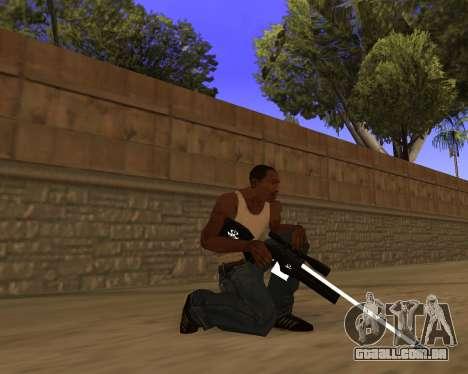 Hitman Weapon Pack v2 para GTA San Andreas por diante tela