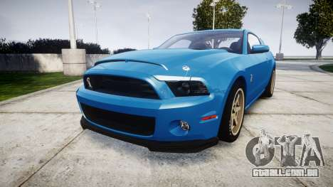 Ford Mustang Shelby GT500 2013 para GTA 4