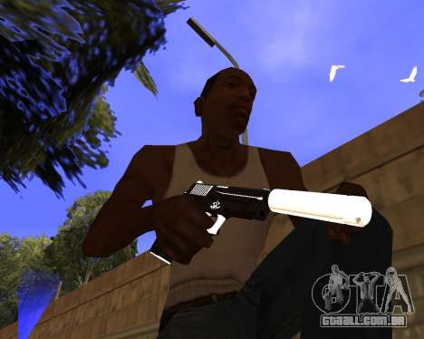 Hitman Weapon Pack v2 para GTA San Andreas
