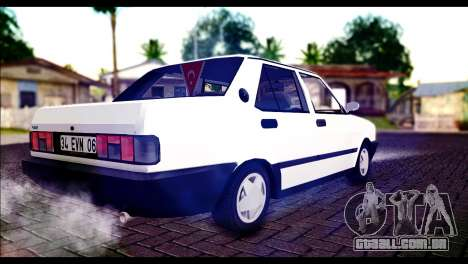 Tofas Dogan 90 Model para GTA San Andreas esquerda vista