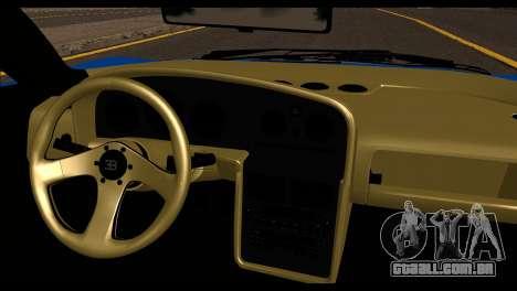 Bugatti EB110SS para GTA San Andreas traseira esquerda vista