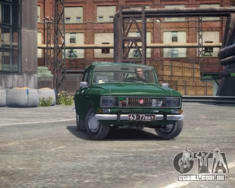 AZLK 2140 para GTA 4