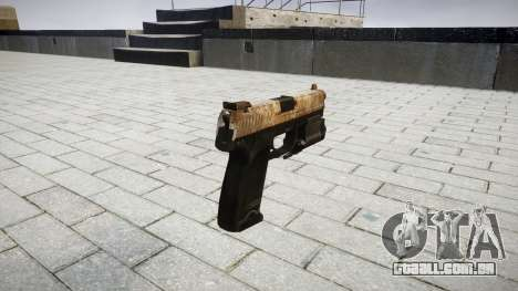 Pistola HK USP 45 empoeirado para GTA 4 segundo screenshot
